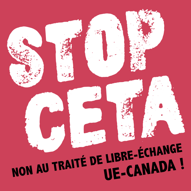 Action au Salon de l'Agriculture contre le CETA